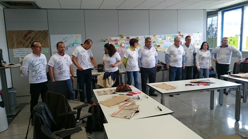 Proyecto de cooperación con el SENA en Colombia